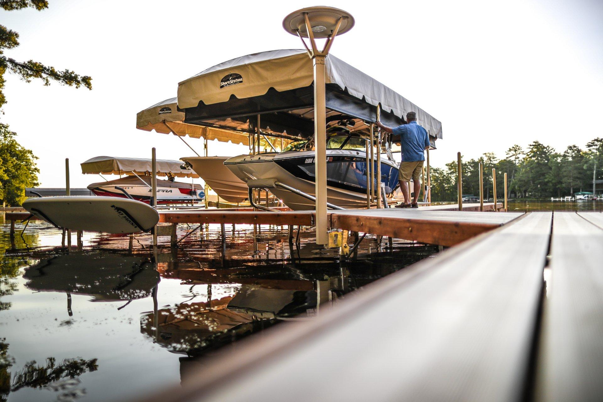 Shorestation Boat Lifts – Shoco Marine