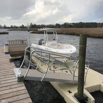 EZ Dock Solution Robalo on BP5001 Beaufort NC