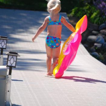 Titan Deck Classic barefoot girl