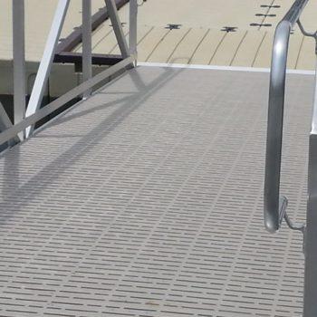 Titan Deck on gangway